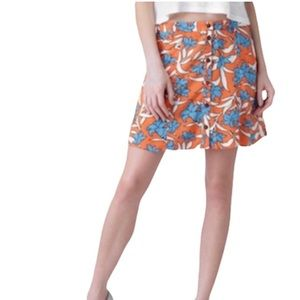 3 for $20! Forever 21 Floral Button Front Skirt
